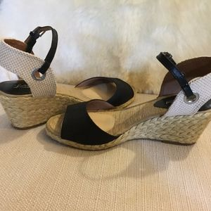 Lucky Brand Espadrille Wedge Sandal size 9.5